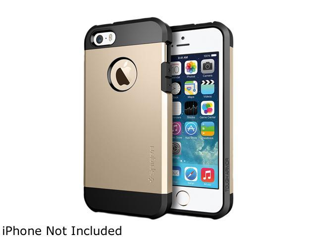 Spigen Tough Armor Champagne Gold iPhone 5S / 5 Case SGP10584