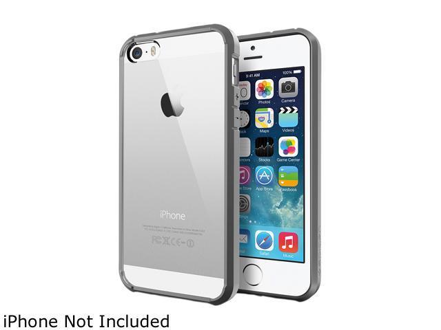 Spigen Ultra Hybrid Gray iPhone 5S / 5 Case SGP10518