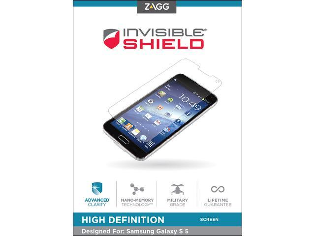 invisibleSHIELD Samsung Galaxy S5-High Definition -Screen GS5HWS-F00