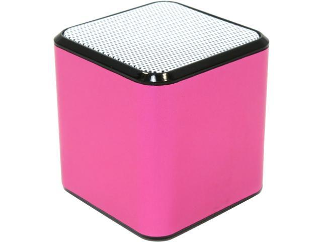 EnerPlex AC-SPEAK-PK Pink Portable Bluetooth Speaker