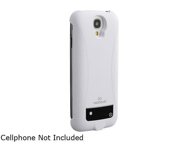 Naztech White 3000MAH Power Case for Samsung Galaxy S4 12548