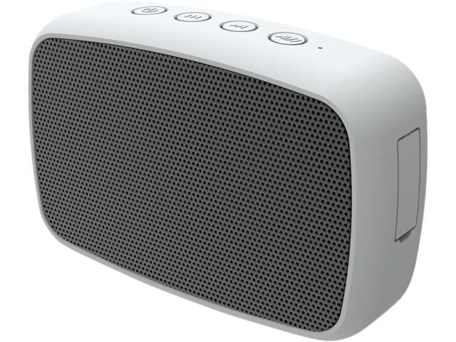 Ematic ESQ206SL Silver Rugged Life Bluetooth Speaker