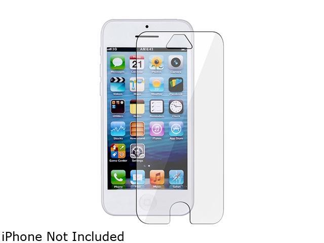 Insten Transparent 5-Pack Clear LCD Screen Protector for Apple iPhone 5 / 5C / 5S 1306638