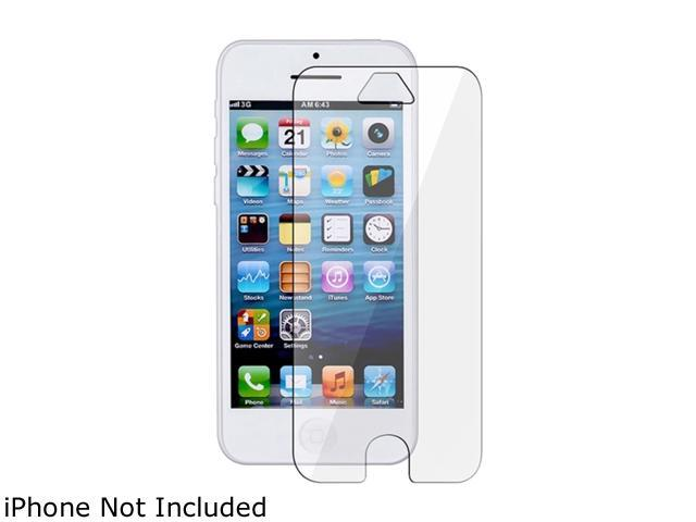 Insten Frost Clear TPU Skin Case + Screen Protector Compatible With Apple iPhone 5C 1306627