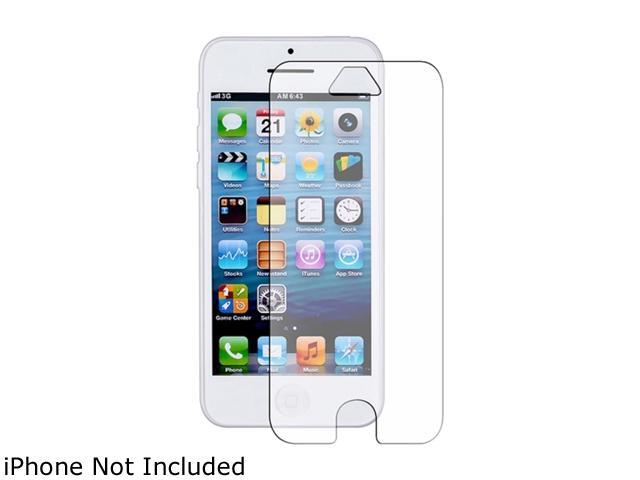 Insten Frost Clear TPU Skin Case + Anti-Glare Screen Protector Compatible With Apple iPhone 5C 1306628