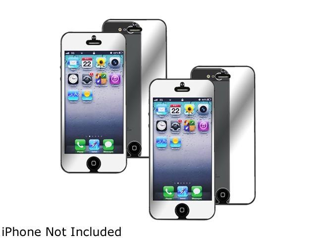 Insten Transparent 2-Pack Mirror Screen Protector for Apple iPhone 5 / 5C / 5S 1401132
