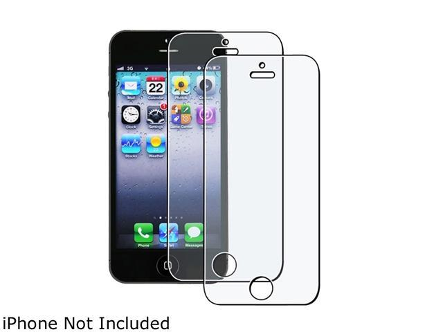 Insten Transparent 2-piece Anti-Glare Screen Protector for Apple iPhone 5 / 5C / 5S 1401133