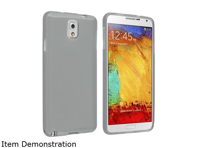 Insten Clear Smoke TPU Rubber Case for Samsung Galaxy Note III Note3 N9000 1406166