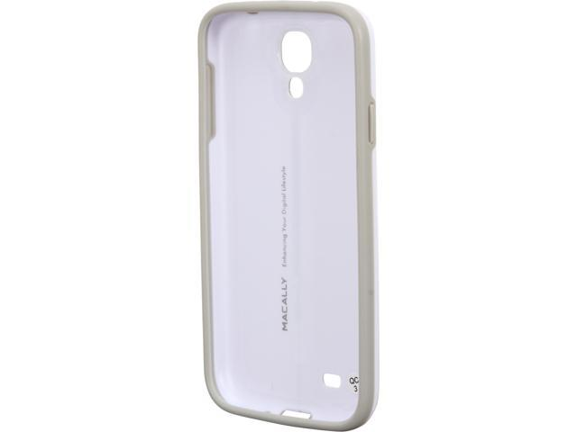 macally White HardShell Protective Case for Galaxy S4 CURVES4W
