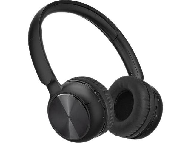 hype hy 10486 blk black ultra slim bluetooth headphones. Black Bedroom Furniture Sets. Home Design Ideas