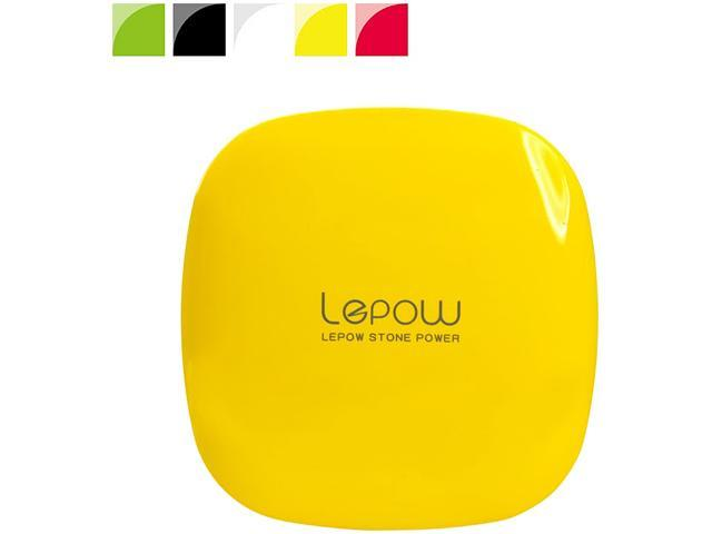 LEPOW MOONSTONE Yellow 6000 mAh Portable Charger MS6000-Y-US-01