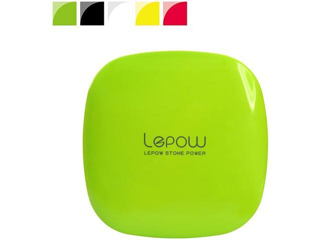 LEPOW MOONSTONE Green 6000 mAh Portable Charger MS6000-G-US-01