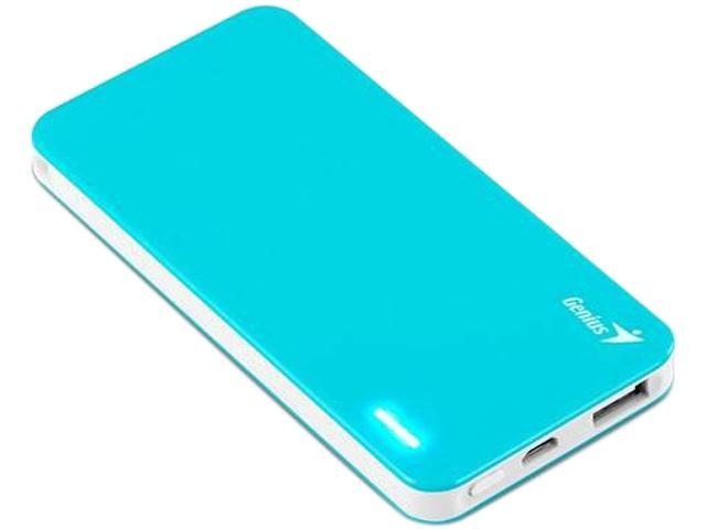 Genius ECO U306 Blue 3000 mAh Economical Sleek Universal Power Bank with Safety Protection 39800005104