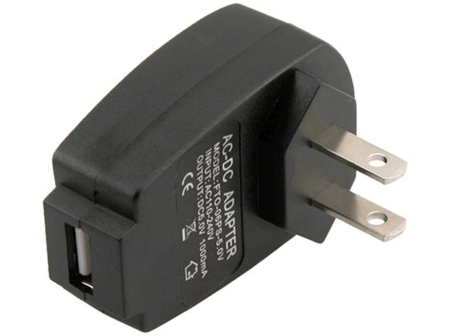 Insten USB Travel Charger Adapter Compatible with Blackberry Z10, Black
