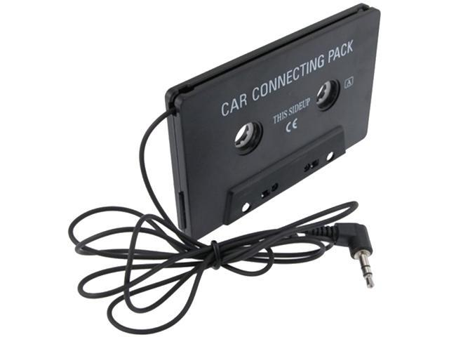 Insten Car Audio Cassette Adapter Compatible with HTC One M7, Black