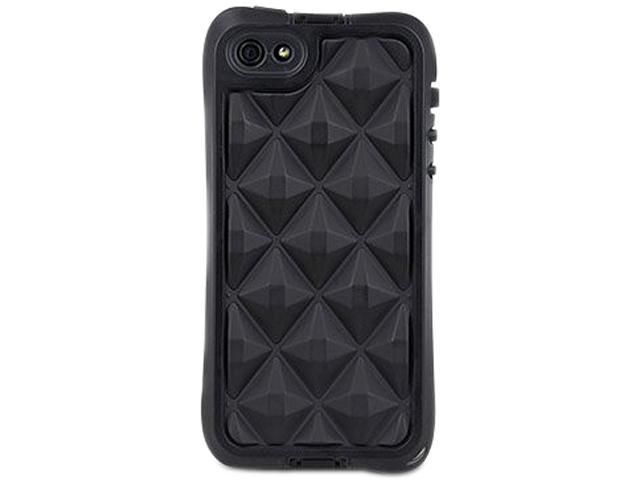 The Joy Factory Black aXtion Go, Rugged Water-resistant Case with Air Cushion Design for iphone 5 CWD104