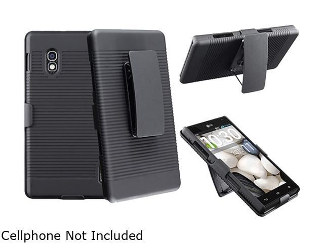 Insten Swivel Holster with Stand Compatible with LG Optimus G E970, Black