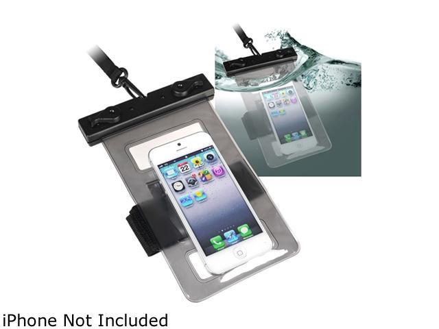 Insten Waterproof Bag for Cell Phone/ PDA with Armband Compatible with Blackberry Z10, Black