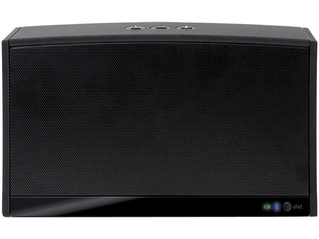 AT&T BTS100 Black Upbeat Bluetooth Speaker System