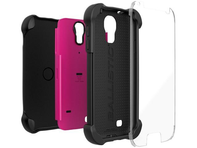 Ballistic Case SG MAXX Black/Hot Pink Holster For Samsung Galaxy S4 SX1159-A195