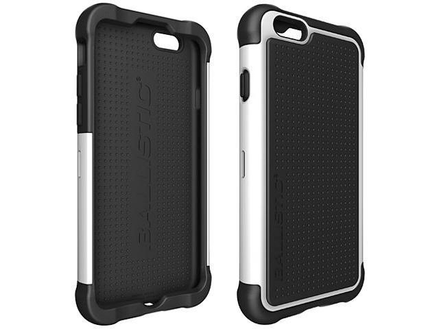 Ballistic Case Tough Jacket Black/White Case for iPhone 6 TJ1415-A08C