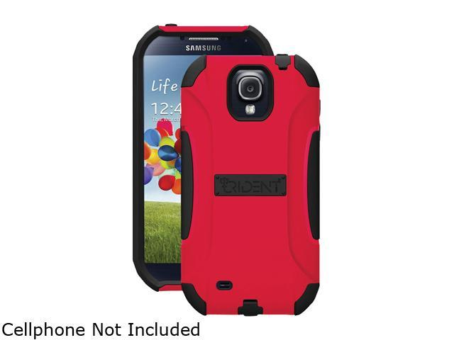 Trident Red Aegis Smartphone Case for Samsung Galaxy S IV GT-i9500 AG-SAM-S4-RED