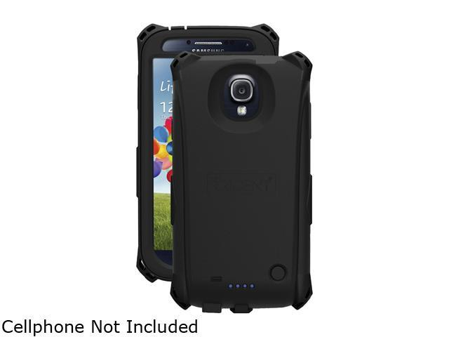 Trident EL-SAM-S4-BK Samsung Galaxy S 4 Electra Series Battery Case With Belt Clip Holster
