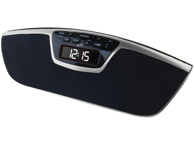 iLive ICB213S Dual Alarm Clock Radio W/Bluetooth Streaming & Speaker Phone