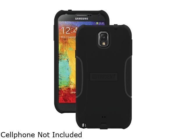 Trident Black Aegis Case for Samsung Galaxy Note 3 AG-SAM-GNOTE3-BK