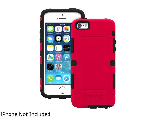 Trident Aegis Red Case for Apple iPhone 5 / 5S - 2014 Edition AG-APL-IPH5S2US-RED