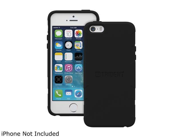 Trident Perseus Black Solid Case for Apple iPhone 5 / 5S - 2014 Edition PS-APL-IPH5S2-BK