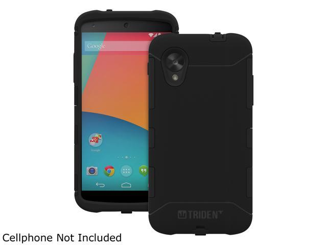 Trident Aegis Black Solid Case for Google Nexus 5 AG-GL-NXS5-BK