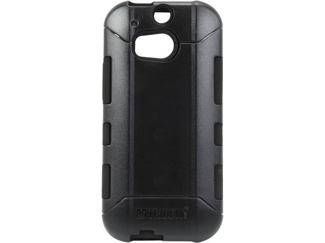 Trident Aegis Black Solid Case for HTC One 2 M8 AG-HTC-M8-BK