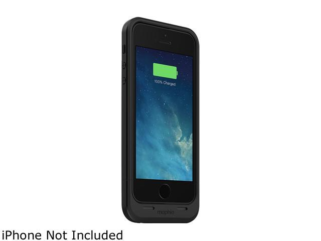 mophie Black 1700 mAh Juice Pack Air Rechargeable External Battery Case for iPhone 5 2105JPAIP5BLK