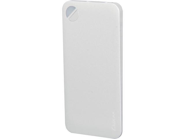 Luxa2 P2 Silver 5000 mAh Aluminium Portable Battery PO-UNP-ALP2SI-00