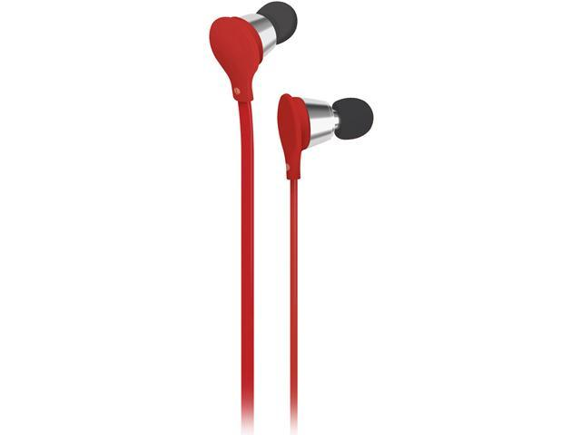 AT&T Red Jive Stereo Earbud EBM01-Red