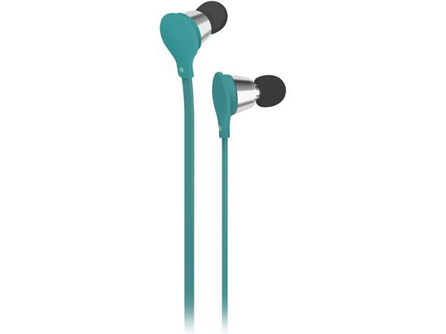 AT&T Jive Turquoise Earbuds with in-line Mic EBM01-Turquose