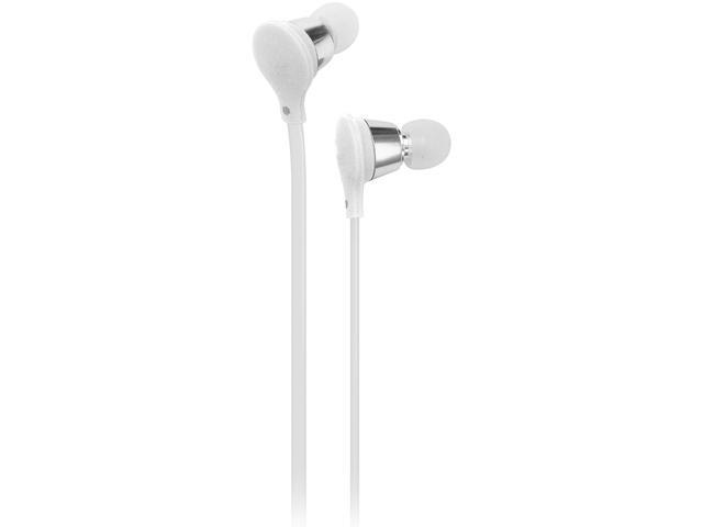 AT&T White Jive Stereo Earbud EBM01-White