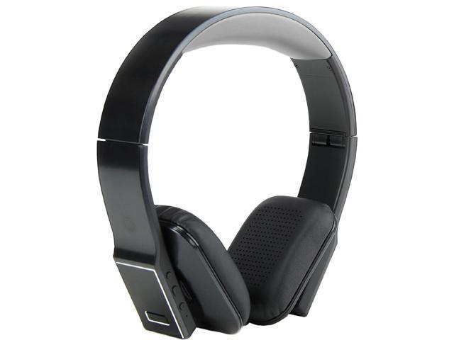 GOgroove GGBVDLX100BKEW Black BlueVIBE DLX Hi-Def Bluetooth Headphones with Folding Design & EVA Carrying Case