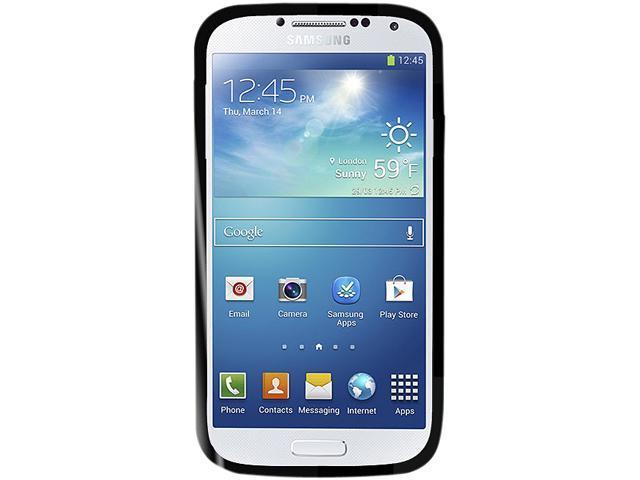 Cellet Proguard Black Hybrid Case for Samsung Galaxy S 4 CFSAMS42BK