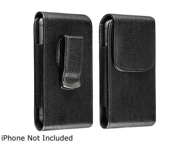 Insten Leather Phone Case with Magnetic Flap for Samsung Galaxy SIV/ S4 i9500,Black 1068357