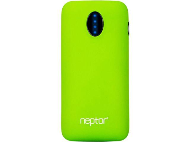 Eagle Tech Neptor Green 5600 mAh Portable Battery Pack w/ LED Flash Light ET-NP056K-GR