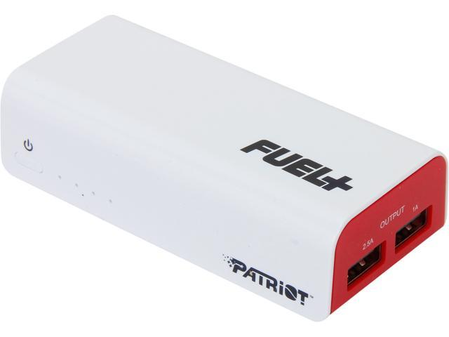 Patriot Memory White 5200 mAh Battery Bank PCPB52002