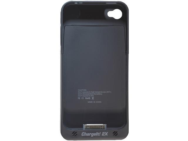 PC Treasures Black 1900 mAh ChargeIt! 2X for iPhone 4/4s 08320