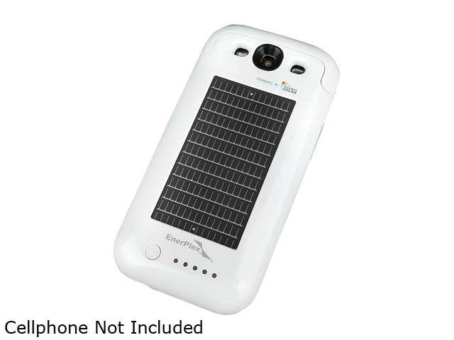 EnerPlex Surfr White 2100 mAh Solar and Battery Powered Phone Case for Samsung Galaxy S3 SCS 2100