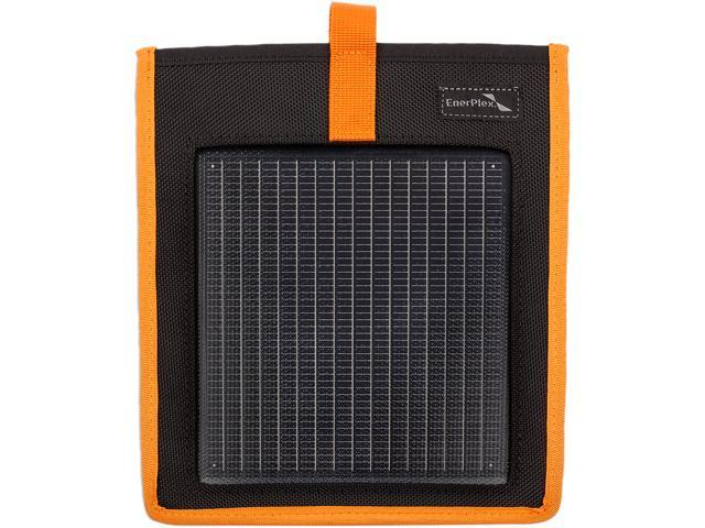 EnerPlex KR-0001-OR Kickr I Portable USB Solar Charger, Orange