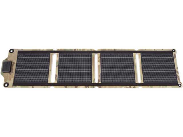 EnerPlex KR-0004-CM Kickr IV Portable USB Solar Charger, Camo