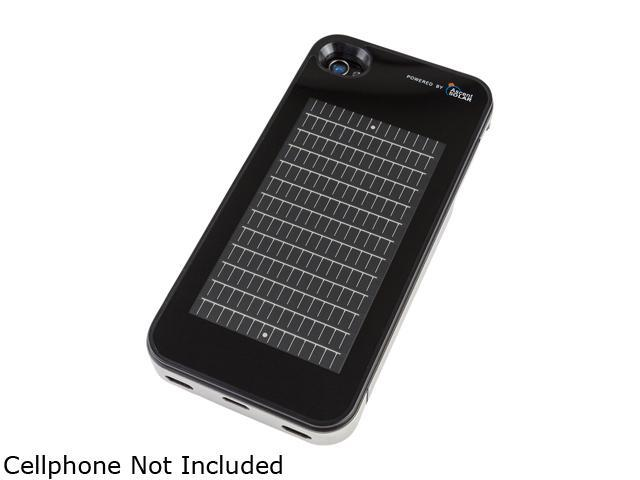 EnerPlex SFI-1400-BK Solar Powered Phone Case for iPhone 4 / 4S