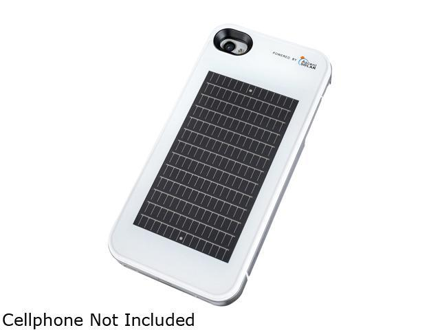 EnerPlex SFI-1400-WH Solar Powered Phone Case for iPhone 4 / 4S