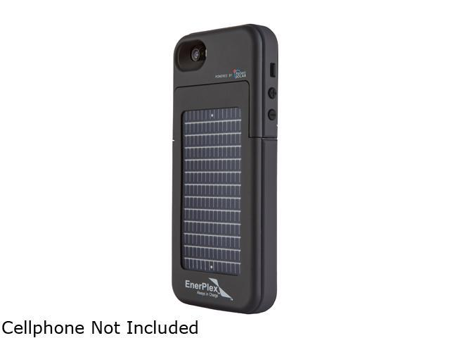 EnerPlex Black 2000 mAh Surfr for iPhone 5 / 5S Phone Case with 2000mAh Rechargeable Li-Ion Battery SFI-2000-BK